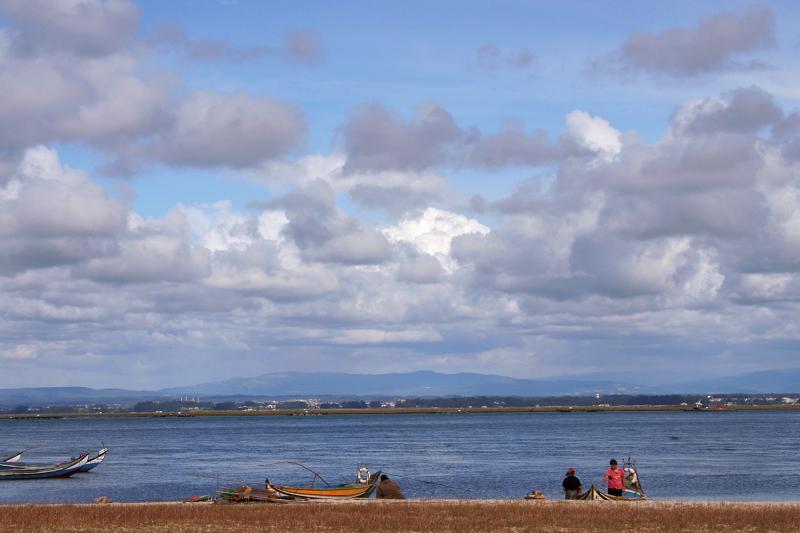 ria-de-aveiro dunas barcos pescador
