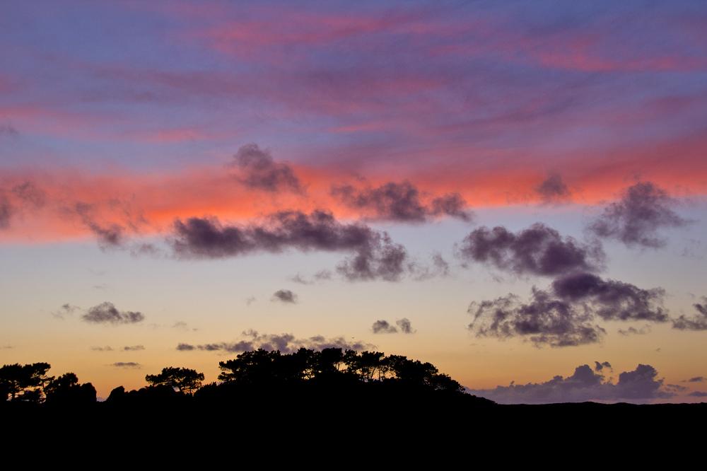 dunas  Salgado sunset