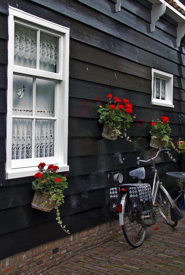 marken holanda bicicletas janela