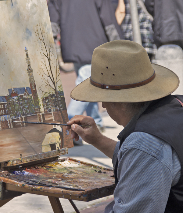 holanda amsterdam pintor