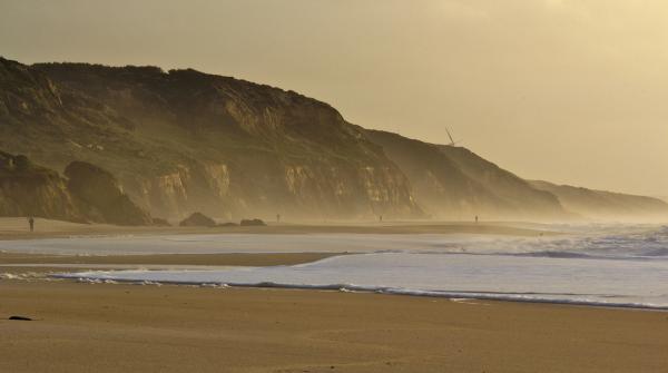 mar praia sunset vale-furado rocha