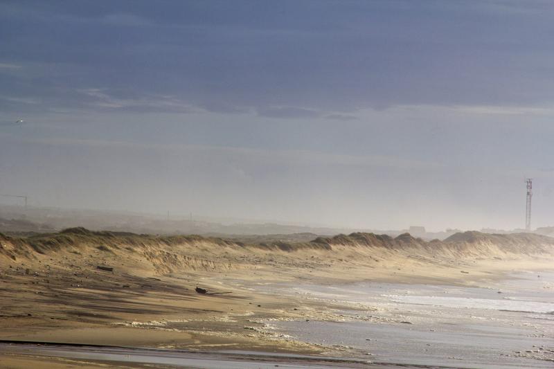 sunset gala praia mar dunas