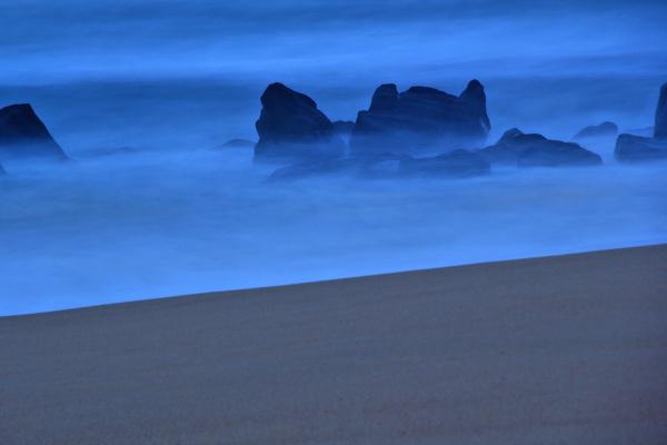 mar praia sunset vale-furado