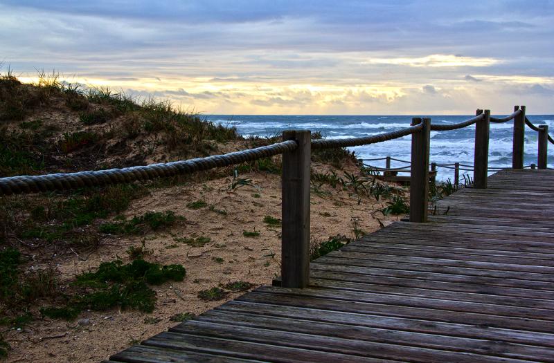 praia mar sunset  gala dunas