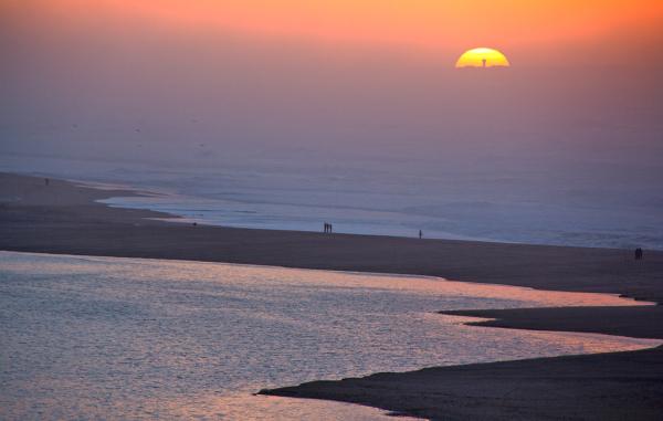 foz-do-arelho praia mar sunset