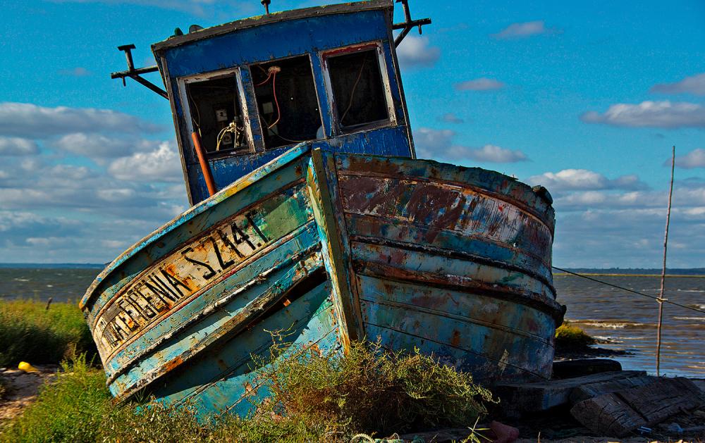carrasqueira barcos rio sado