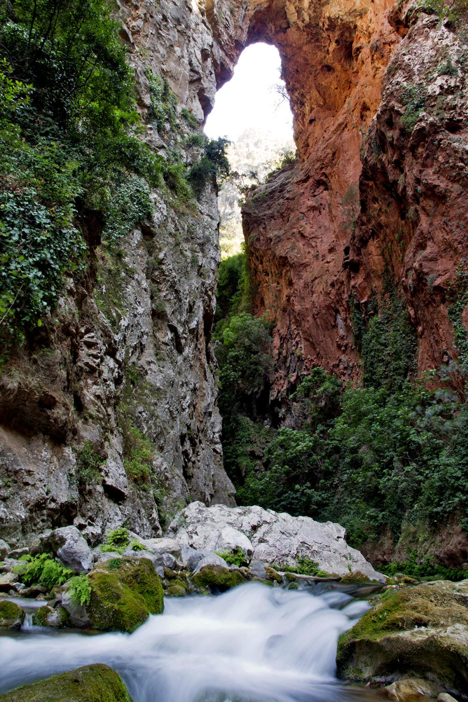 marrocos ponte-de-Deus rio Rio-Akchour