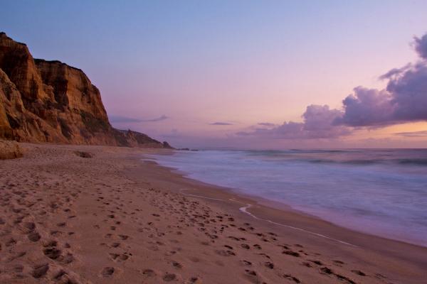 praia sunset areia  vale-furado