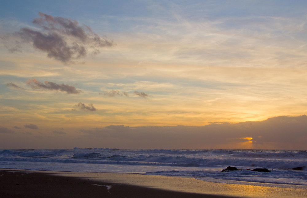 vale-furado praia sunset