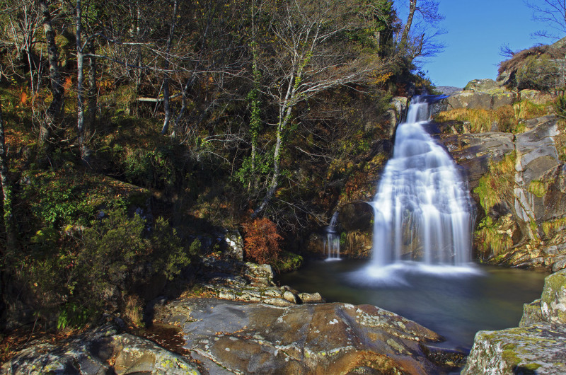 alvão outono cascata Cascata-de-Galegos