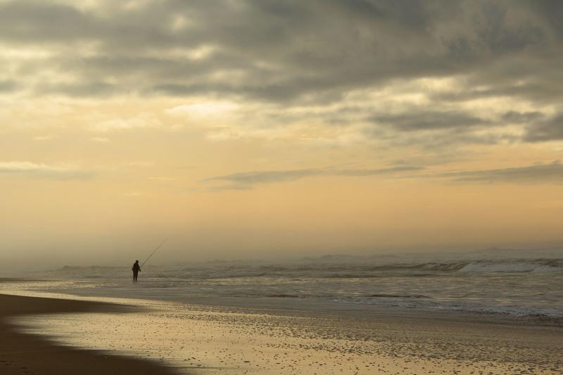 praia vieira sunset