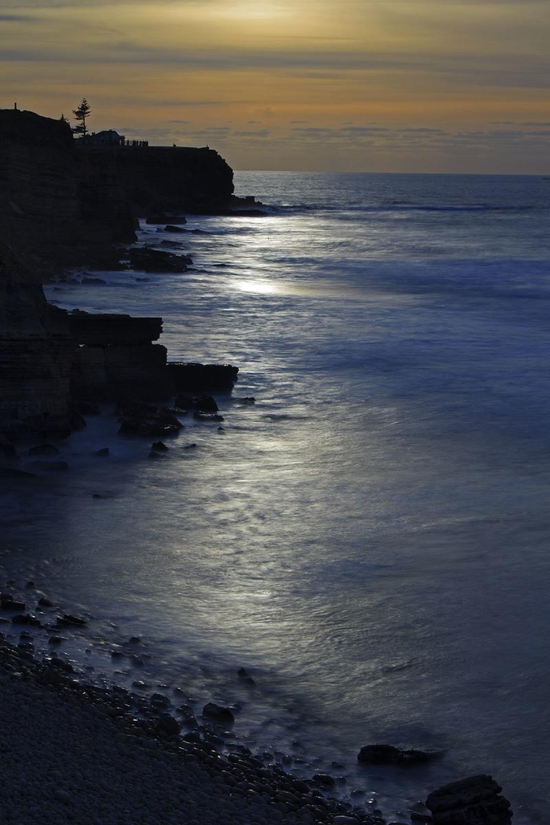 peniche rocha mar baleal praia sunset
