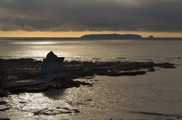 peniche rocha mar baleal praia berlengas sunset