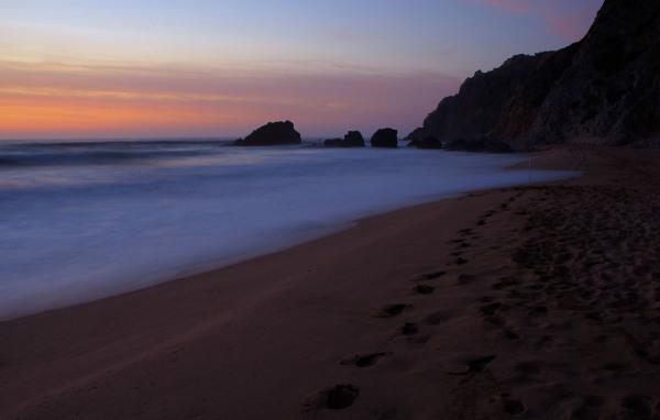 praia sunset Adraga mar areia