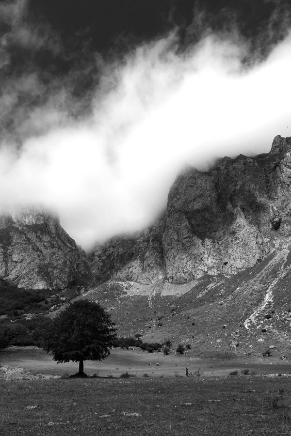 picos-da-europa  nevoeiro Fuente-Dé