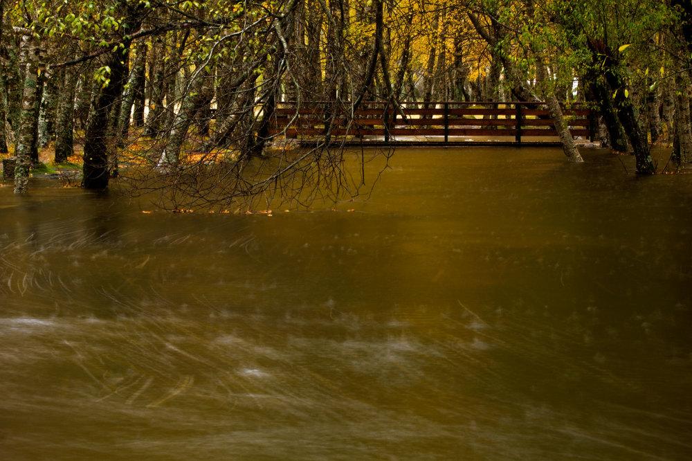 serraestrela covão-da-ametade outono chuva rio
