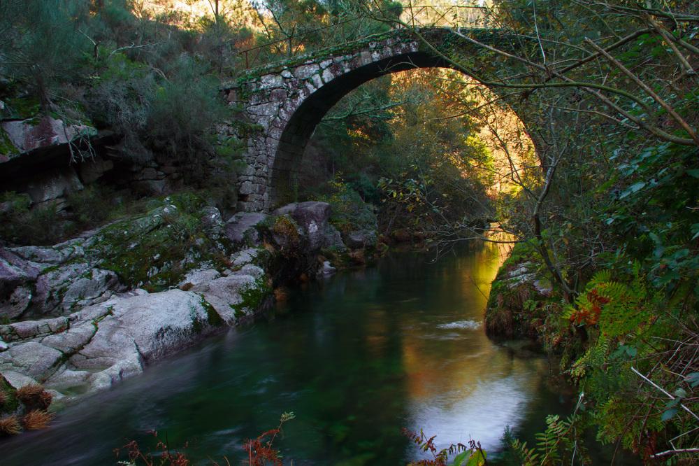 peneda-gerês soajo outono ponte-da-ladeira