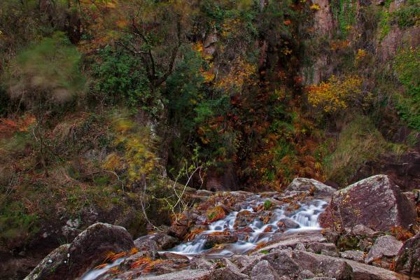peneda-gerês outono cascata pincães