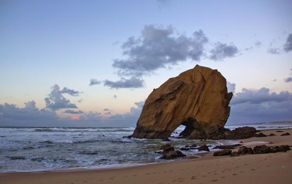 praia rocha Santa-Cruz