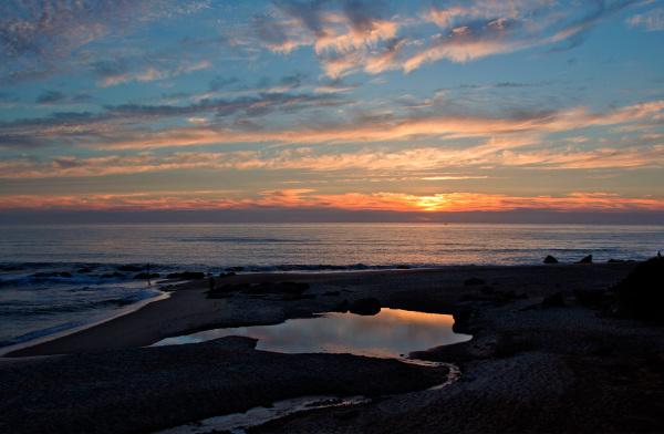 praia sunset vale-furado