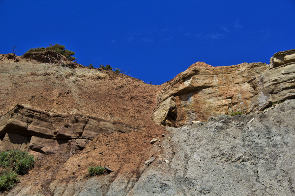 praia lourinhã falha rocha