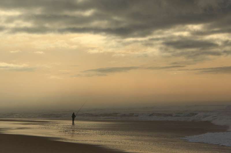 praia vieira mar sunset pescador