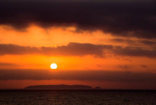berlengas sunset mar