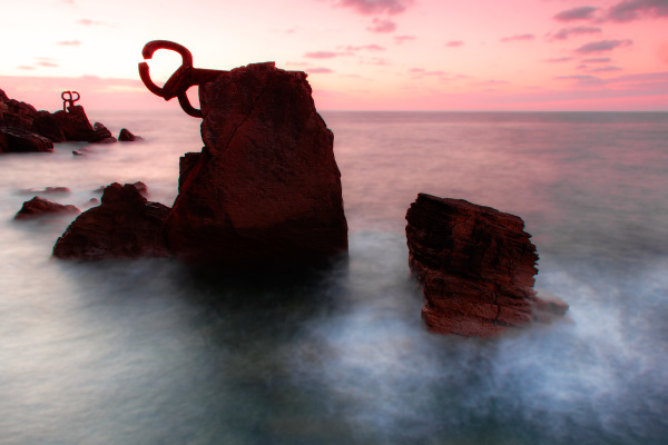 espanha San-Sebastian sunset