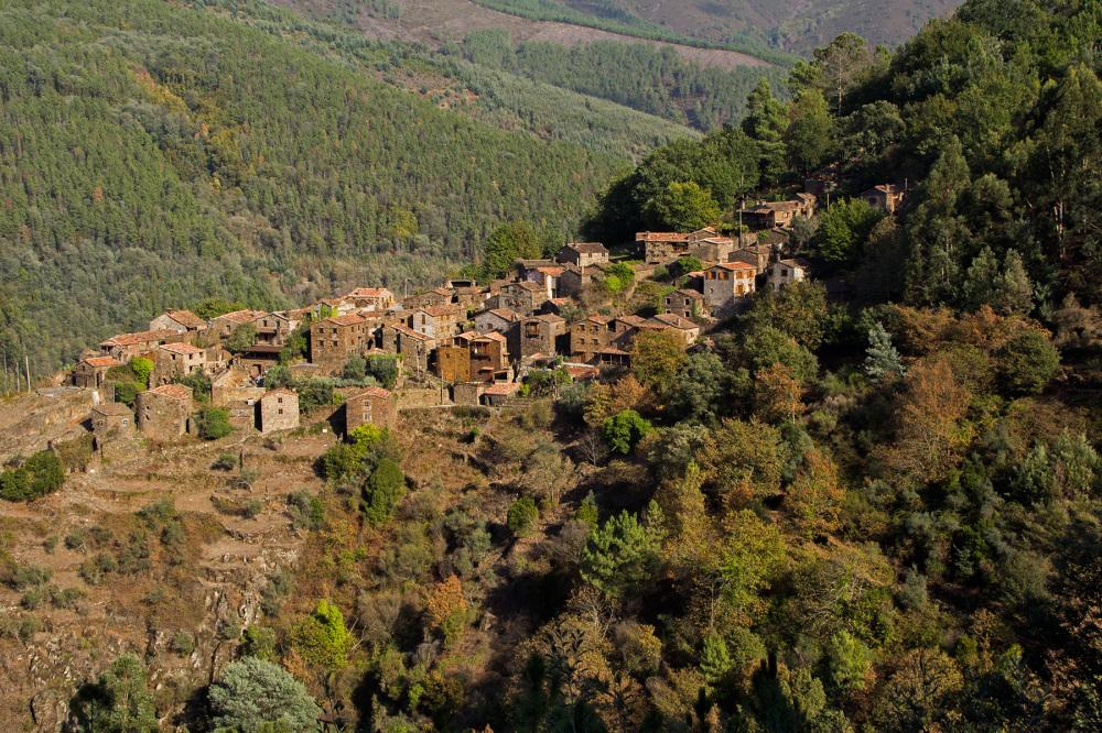 lousã aldeia xisto outono