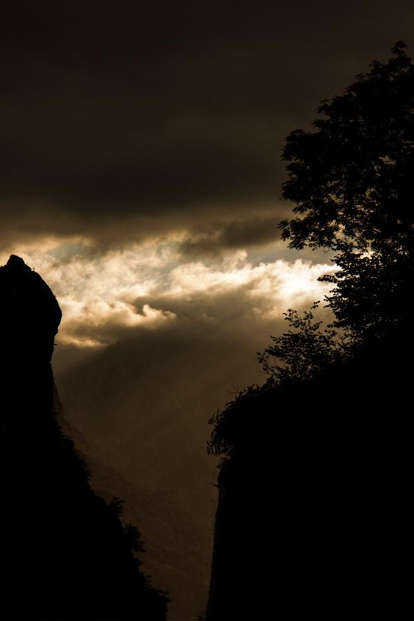 espanha picos-da-europa montanha sunset