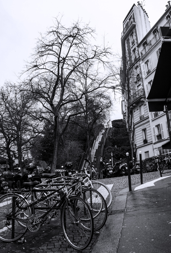 france paris bicicletas Montmartre