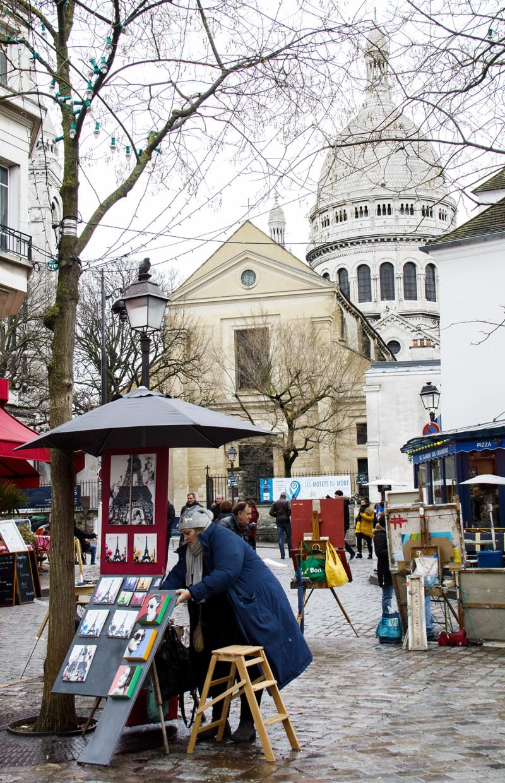 France paris Montmartre Sacré-Cœur