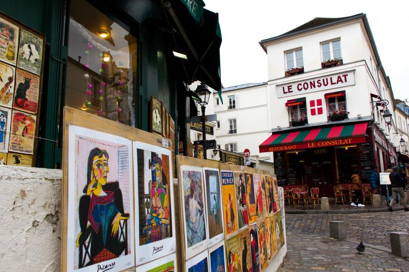 France paris Montmartre