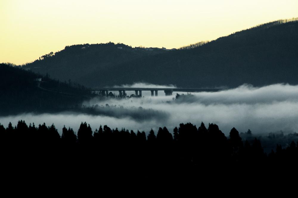 sunrise coimbra nevoeiro