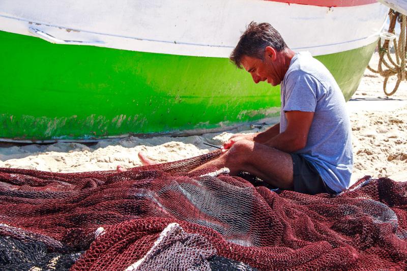 vieira arte-xávega   pescador