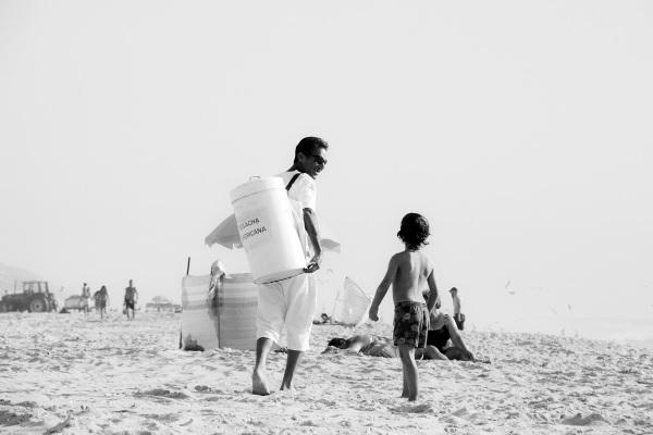 vieira praia criança vendedor