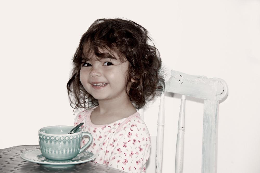 princesa criança retrato