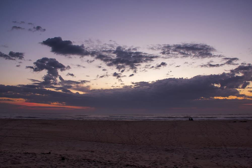 sunset mar praia polvoeira