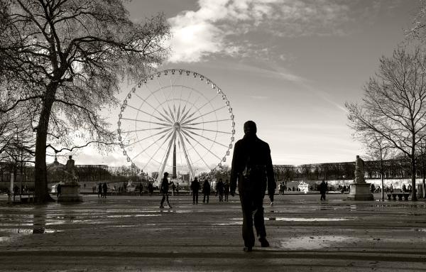 Un étranger à Paris