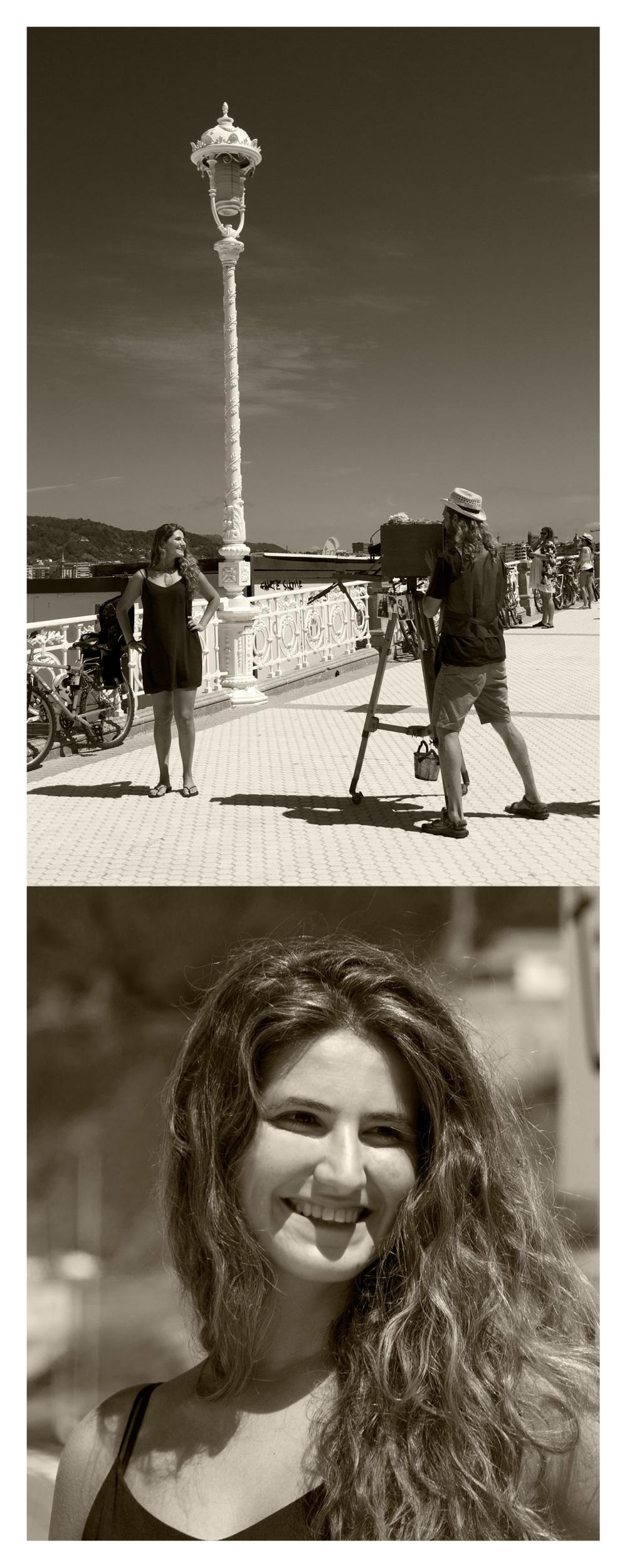 O fotógrafo e a modelo