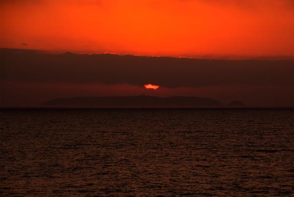 Sunset in Berlengas
