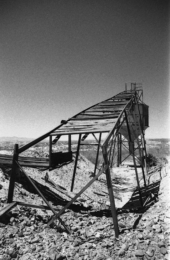 Mine Scaffolding, Gleeson, Arizona