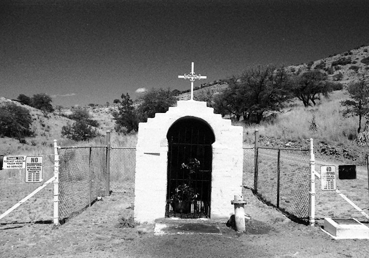 Roadside Memorial, Bisbee, Arizona