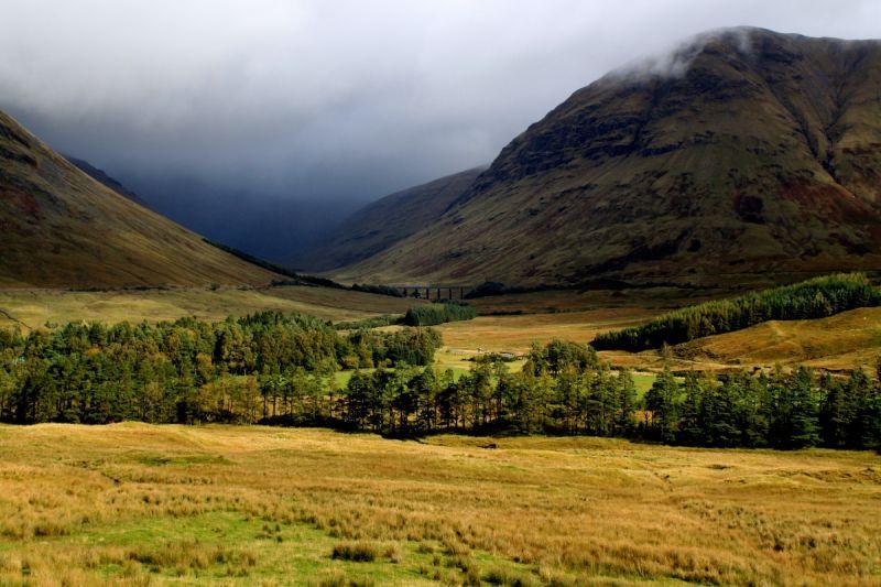 Highlands Roadside Photograph