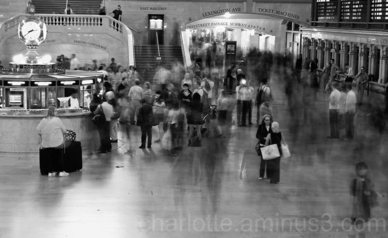 Long exposure in Grand Central Station, NYC