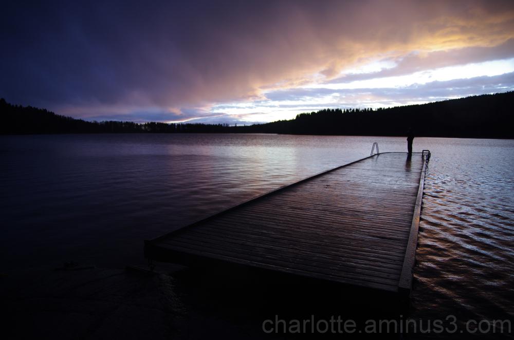 Sunset at Sognsvannet