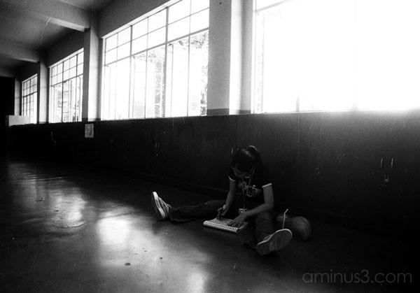 ana marfie studying