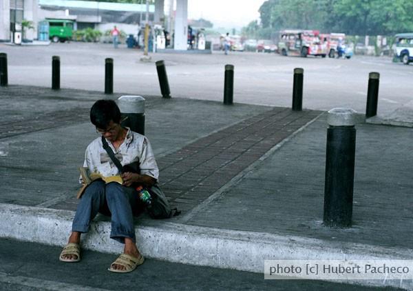 street bookworm  katipunan drifter