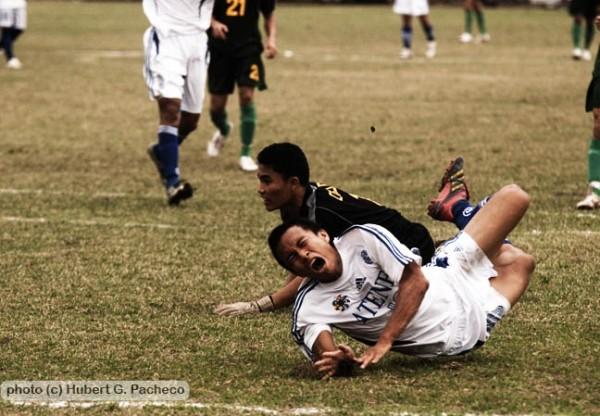 uaap 70 football ateneo injury