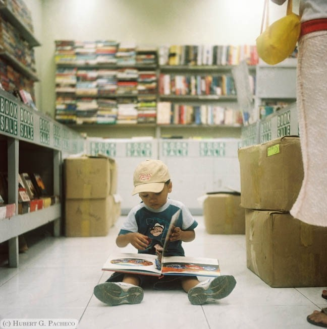 book sale sm lucena kid reading